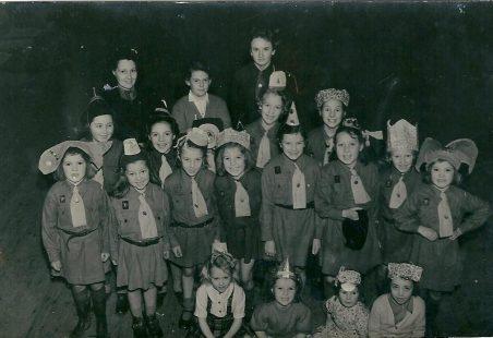 Benfleet Brownies 1950's