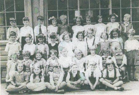Benfleet School - Class of 1954/5?