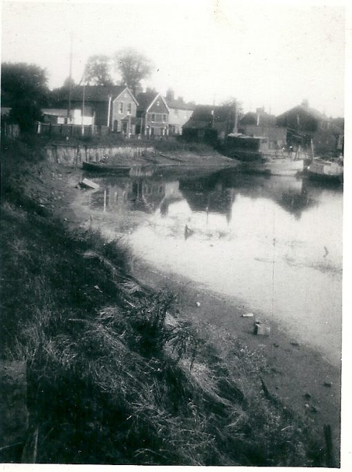 Church Creek looking towards the High street, date unknown | Joan English (nee Philips)