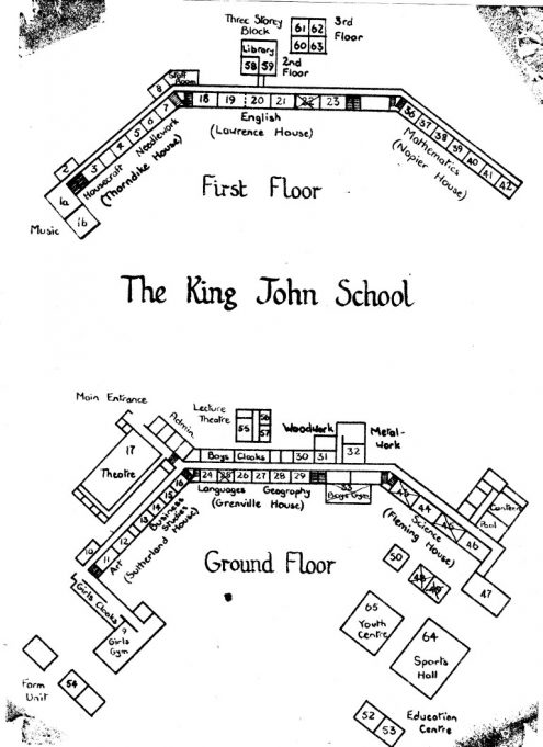Plan of the school | Stephen Jones