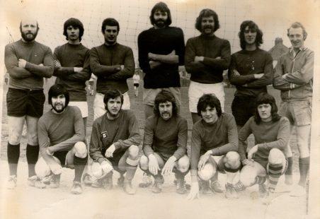 King John School Teachers' Football Team 1974-5