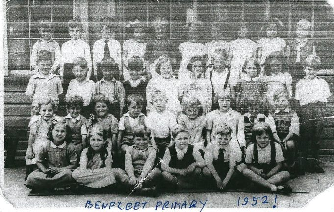 Benfleet Primary School 1952 | Ann Morrison collection