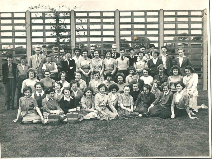 Class photo c. 1960 | Ann Morrison collection