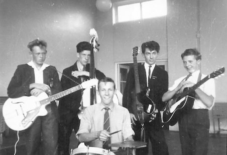 'The Hotrods' - King John School's Rock/Pop Group in the 50s and 60s