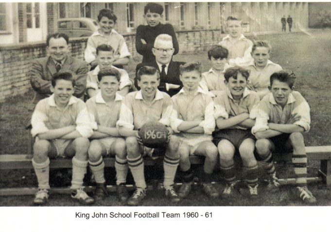 King John School Football Team 1960-61 | Mick Lee