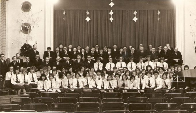 This may be the 5th form - taken 1964/65 | Celia Drew