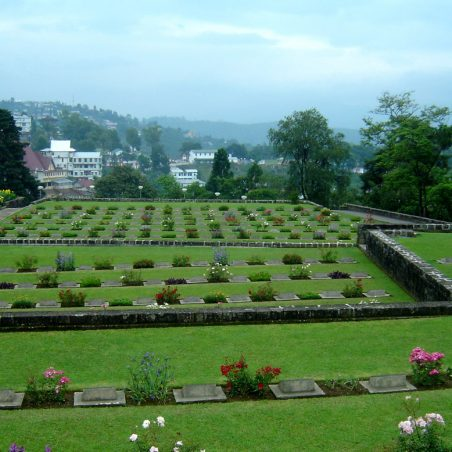 Kohima War Cemetery.  India. | Copyright.  The War Graves Photographic Project.