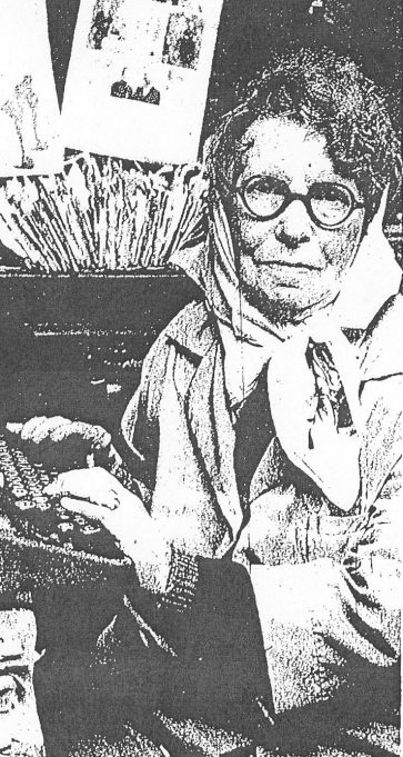 Mrs Lucia Mary Boston in 1971 | Evening Echo