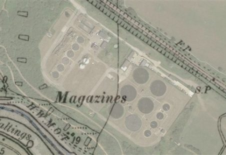 Uncovering the Lost Explosives Magazines