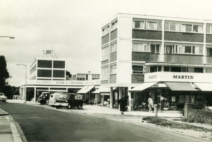 Roseberry Walk shops 1967 | Paul Fretwell