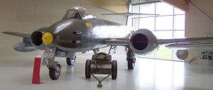 Meteor F8 jet similar to that which crashed | Stahlkocher under Wikimedia Commons