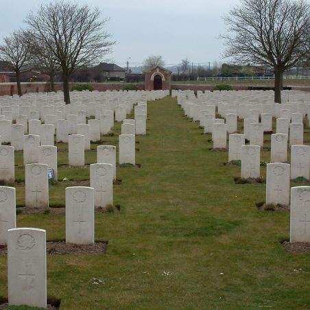 Reningheist New Military Cemetery.  Belgium. | Copyright.  The War Graves Photographic Project.