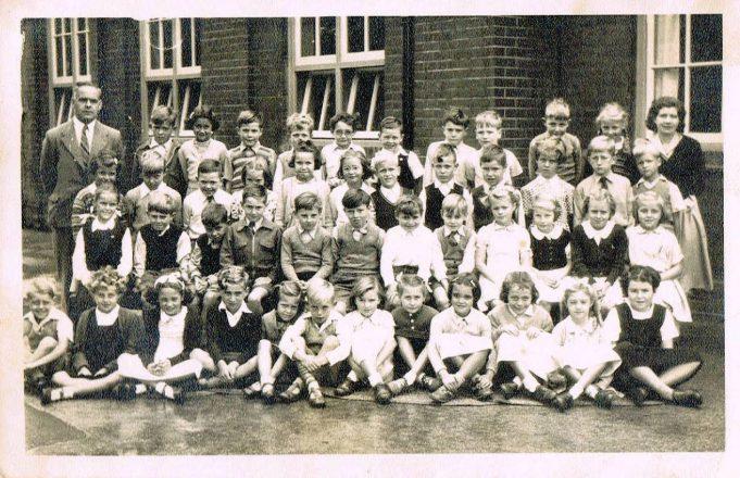 Benfleet Primary School, 1953 | Val Windsor