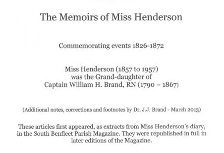 The Memoirs of Miss Henderson - Part 3