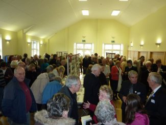 The crowds who visited the exhibition and launch | Dave Cowan