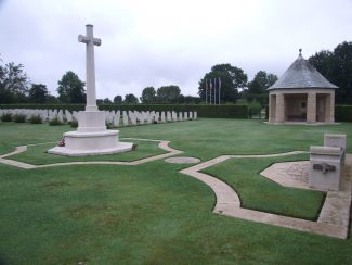 St-Desir War Cemetery.  France. | Copyright.  The War Graves Photographic Project.