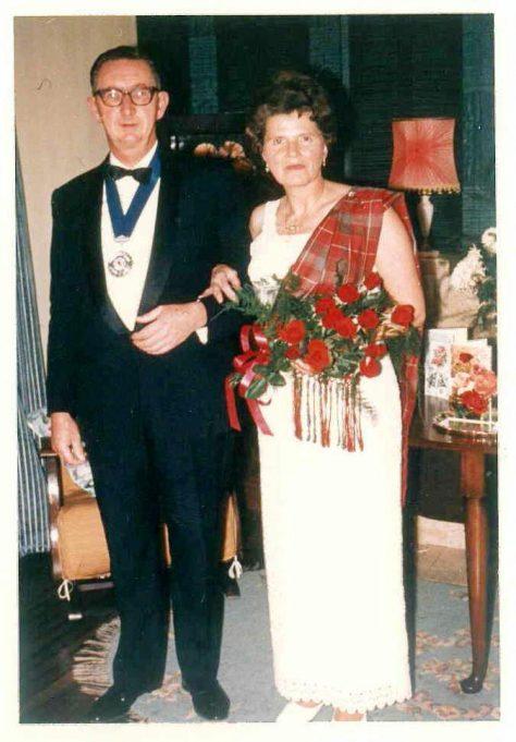 Dr & Mrs Tyndall | Roger Tyndall