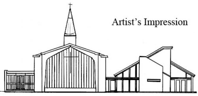 Artist's impression of the new Church Hall