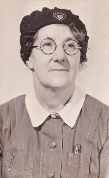Nurse Revell c. 1947   Bob Barnes