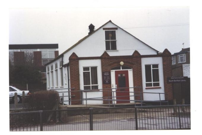 Elim Mission Hall - home to Benfleet Library from 1943 to 1990s