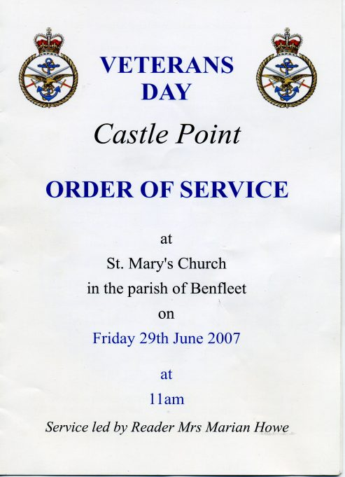 Order of Service | Ian Hawks