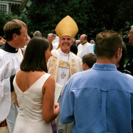 Ordination of Keith Foot with Bishop Laurie 4/7/99