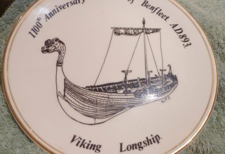 Battle of Benfleet Plate