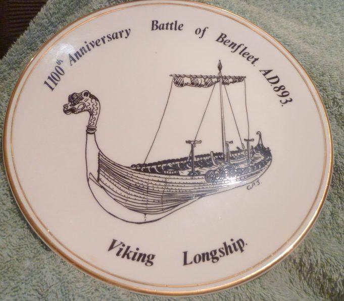 Battle of Benfleet Plate | Jenny Day