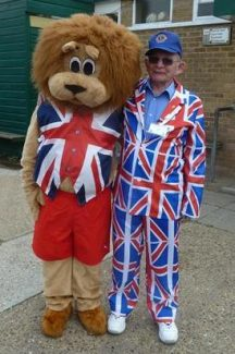 Wilf and friend from Clacton Lions | Jenny Day