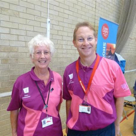 Essex Ambassadors Jeannie Lamb and Howard Nicholls | Jenny Day