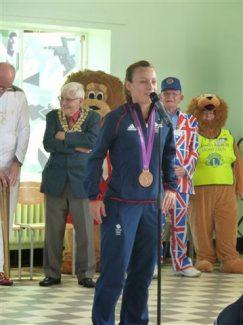 Bronze medallist Chloe Rogers | Jenny Day