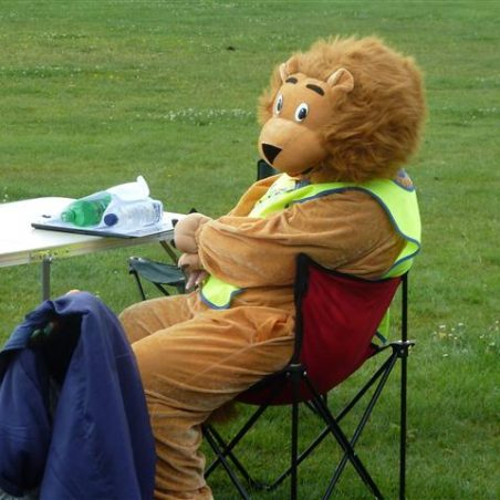 A Canvey Lion takes a rest! | Jenny Day