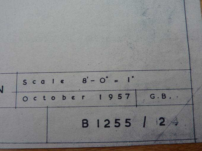 Plan date 1957 | Essex Police