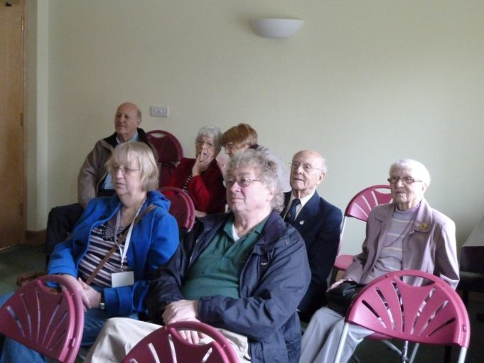 Patrons of Benfleet Cinema including Iris Sugg | Phil Coley