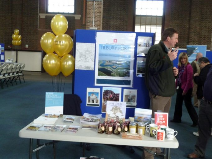 English Heritage stand   Phil Coley