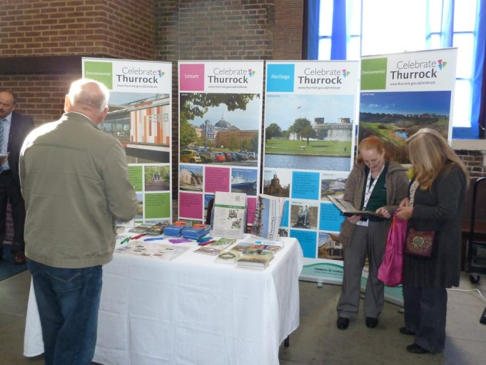 Thurrock Council stand   Phil Coley