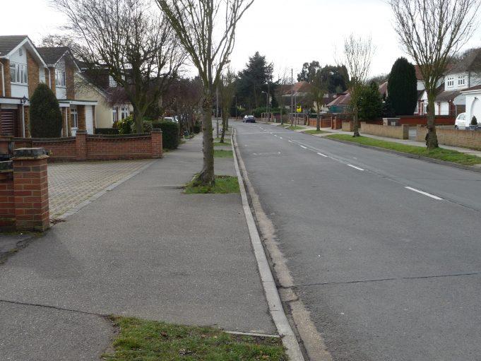 Looking towards Benfleet Road  2012 | Eileen Gamble