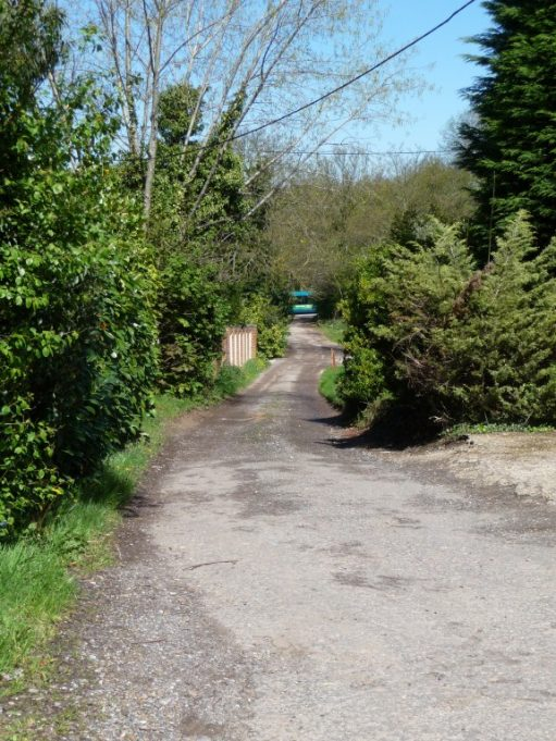 Glen Road looking towards the London Road (A13) - 2012 | Eileen Gamble