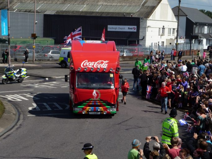 Coca Cola Sponsor vehicle | Eileen Gamble
