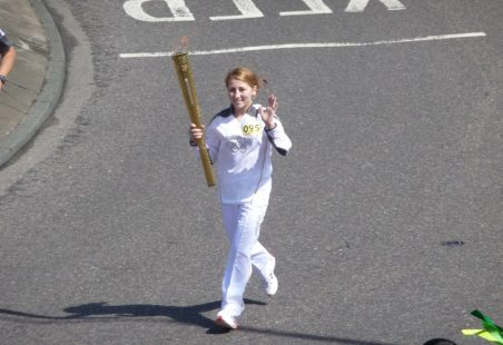 The Olympic Torch Visits Benfleet