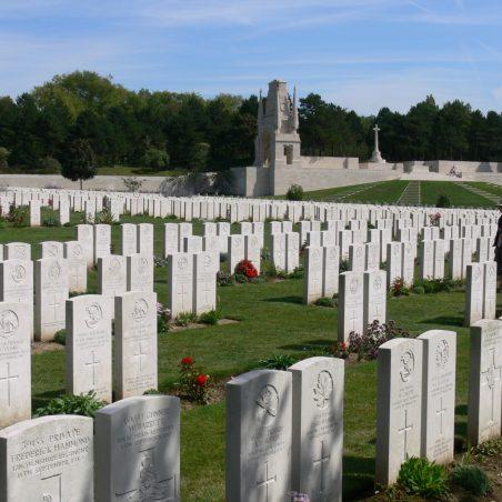 Etaples Military Cemetery.  France. | Ronnie Pigram.