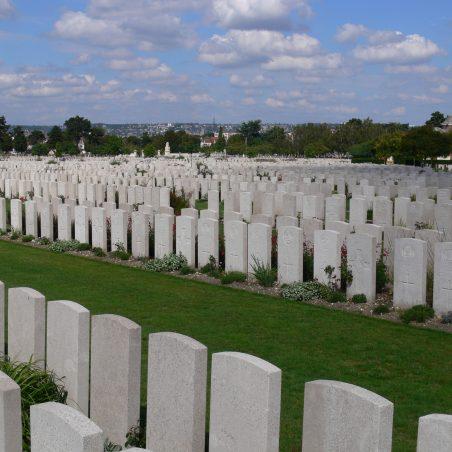 St. Sever Cemetery.  France. | Ronnie Pigram.