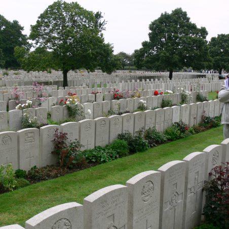 Lijssenthoek Military Cemetery.  Belgium. | Ronnie Pigram.