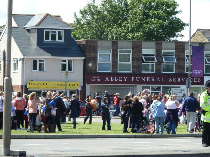 Abbey Funeral Services from whose window the video and pictures were taken | Phil Coley
