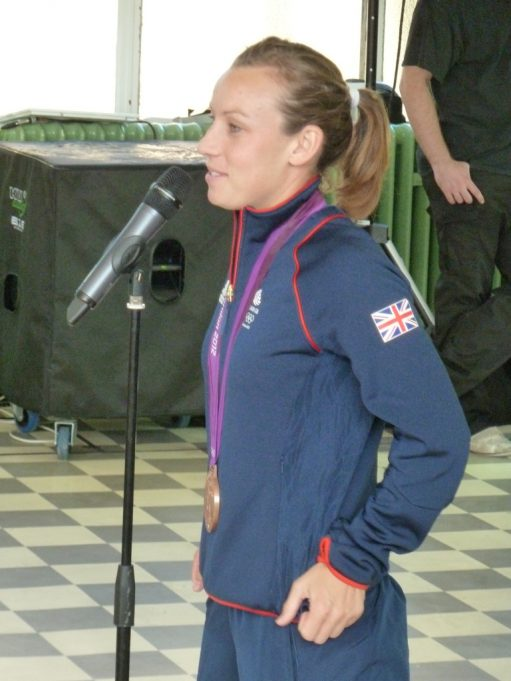 Chloe Rogers speaking at the opening   Phil Coley