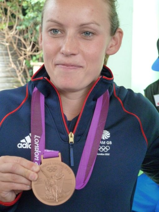 Chloe Rogers and her Bronze Medal | Christine Coley