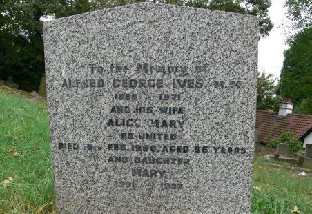 Alfred George Ives. M.M.