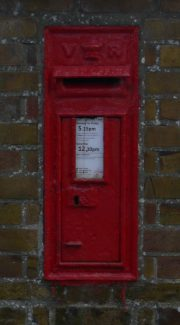 Victorian Letter Box. | Ronnie Pigram.
