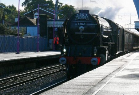 Tornado at Benfleet Station