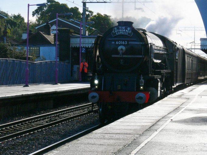 Tornado passing through Benfleet Station | Ronnie Pigram